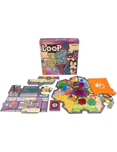 Poker Dice Set with Poker Leather Cup - Red