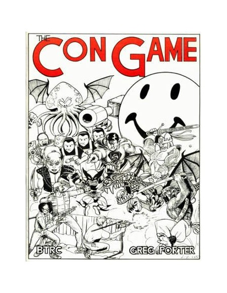 DICE: 1 set of 7 Elvish - Yellow/Black