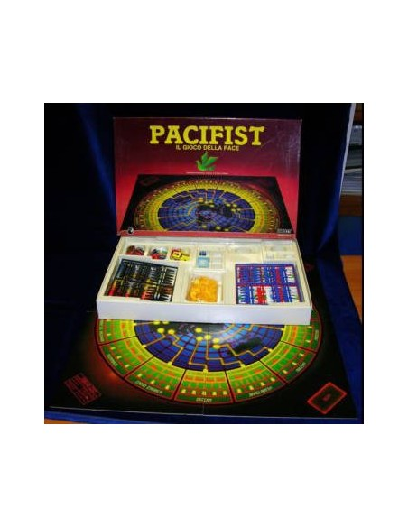 DICE: 1 set of 7 Nuke - Transparent/Blue